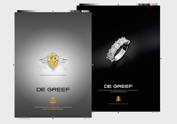 Advertising campaign for DE GREEF Jewellers, photography by Erwin Maes Photography.
